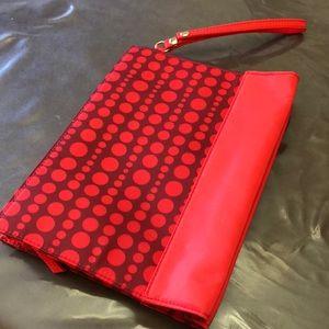 New Makeup Bag or Wristlet Zippered Bag